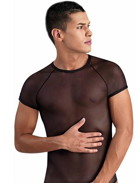 Eros Veneziani Pepe: T-Shirt, schwarz