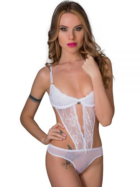 Eros Veneziani White Angel: Stringbody, weiß