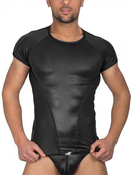Eros Veneziani Alessio: T-Shirt, schwarz
