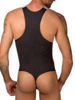 Eros Veneziani Cool Boy: Stringbody, schwarz