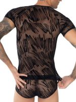 Eros Veneziani Edoardo: T-Shirt, schwarz